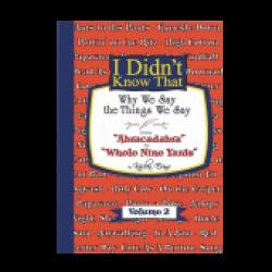 Karlen Evins Book- I Didn't Know That Volume 2